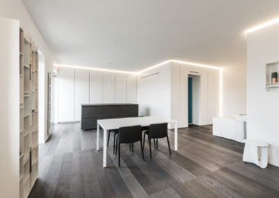 appartamento Milano rovere oliato