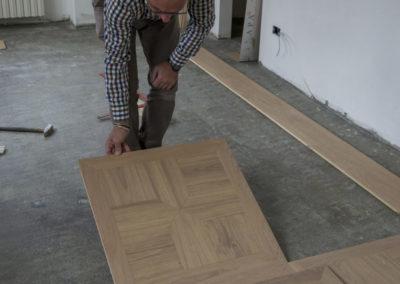 installare riscaldamento a pavimento con parquet